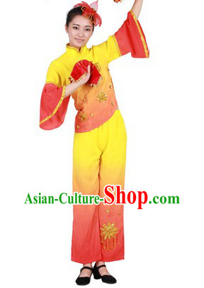 Stage Performance Handkerchief Dance Suit for Women