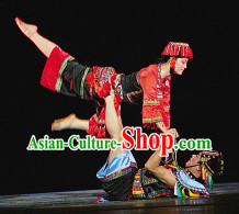 Chinese Ethnic Nationality Costumes for Men and Women