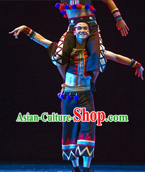 Chinese Minority Dance Costumes for Men