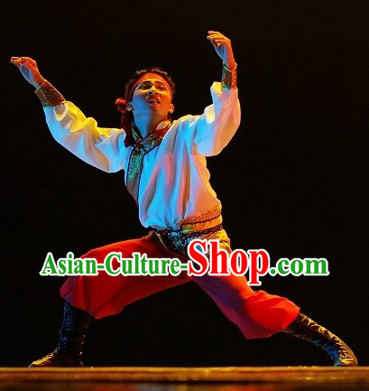 Traditional Chinese Mongolian Dress for Men
