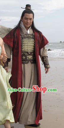 Ancient Chinese Royal Official General Costumes for Men