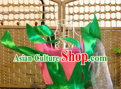 Traditional Chinese Lotus Stage Performance Dance Costumes for Women