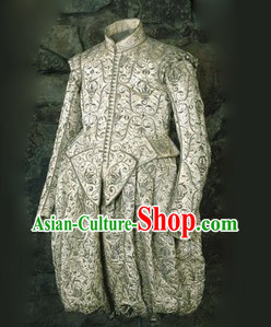 Ancient European Palace Nobleman Traditional Dress