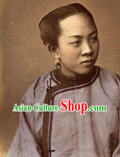 Traditional Min Guo Period Female Clothing