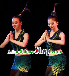 Traditional Mermaid Stage Performance Costumes for Women