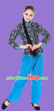 Traditional Chinese Xi Er Dance Costumes for Women