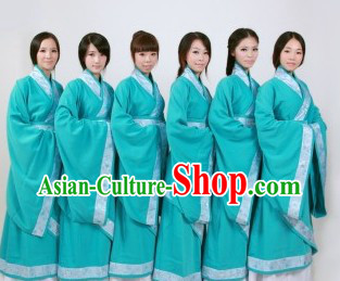 Custom Made Traditional Chinese Han Fu Clothes for Women
