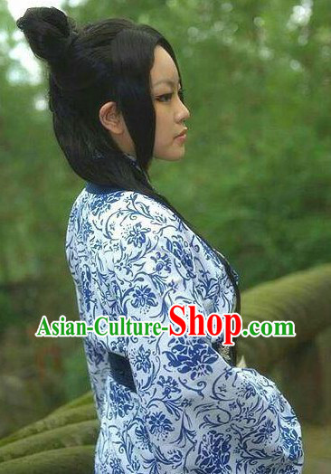 Traditional Chinese Guzhuang Clothes Complete Set for Women