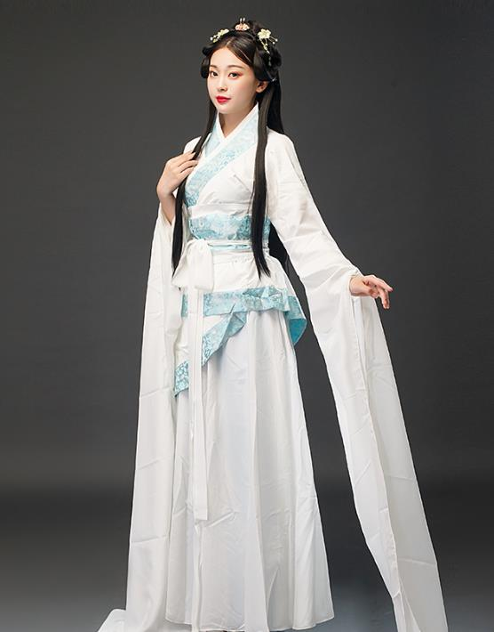 Ancient Chinese Imperial Palace Empress Clothing Complete Set for Women