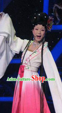 Long Shui Xiu Colour Transition Empress Dance Costumes Complete Set for Women