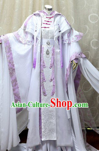 Ancient Chinese Imperial Emperor Cosplay Costumes Complete Set for Men