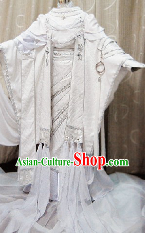 Ancient Chinese Prince Cosplay Costume Complete Set for Men