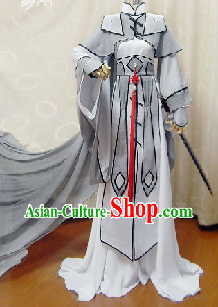 Ancient Chinese Imperial Guard Cosplay Suits Complete Set