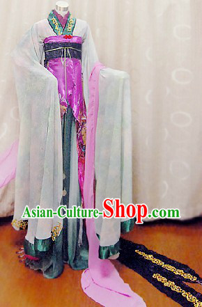 Ancient Chinese Princess Cosplay Outfits Complete Set