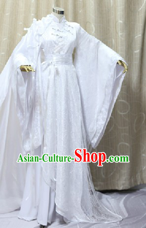 Ancient Chinese Doctor Cosplay Clothing Complete Set