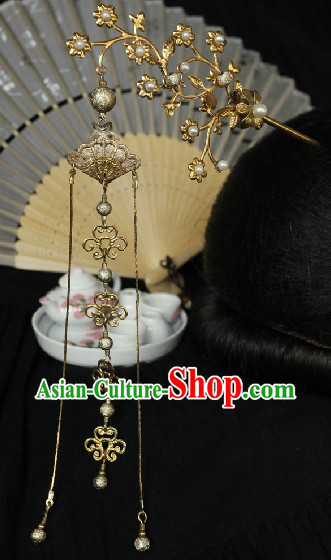 Ancient Chinese Handmade Plum Blossom Hairpins