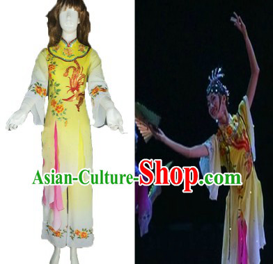 Traditional Chinese Phoenix Mandarin Dance Costumes for Women
