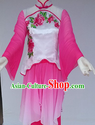 New Style Chinese Yangge Dance Costumes
