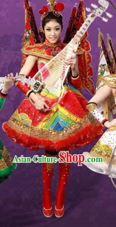 2013 New Style Peking Opera Type Dance Costumes and Hair Accessories for Women