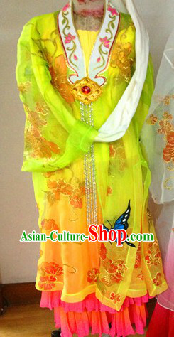 Classicial Butterfly Dance Costumes and Headgear for Women