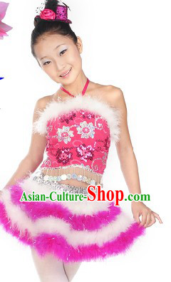 Children's Day Stage Performance Costumes for Little Girls