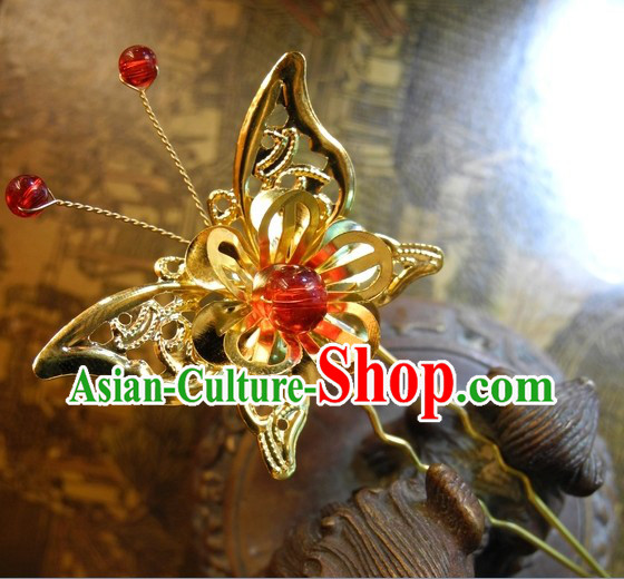 Handmade Traditional Chinese Butterfly Hair Accessories