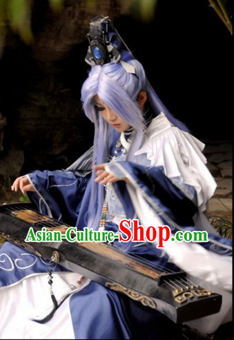 Ancient Style Chinese Cosplay  Clothing, Shoes   Accessories for Men