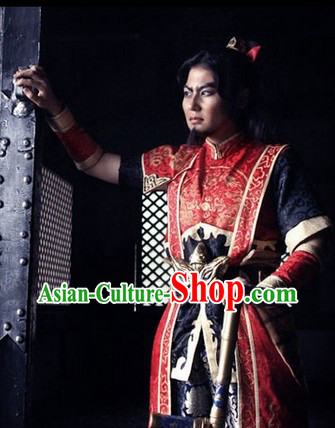 Top Quality Ancient Chinese Swordman Costume Complete Set for Men