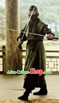 Ancient Korean Killer Costumes Complete Set for Men