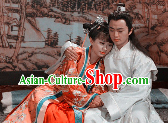 Tang Dynasty Couple Clothing Two Sets