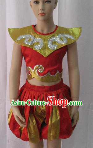 Traditional Chinese Dance Costumes for Kids