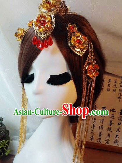 Handmade Traditional Chinese Hair Jewelry For Wedding‎
