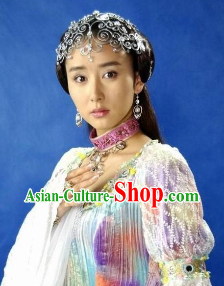 Traditional Ancient Chinese Fairy Hair Accessories Set