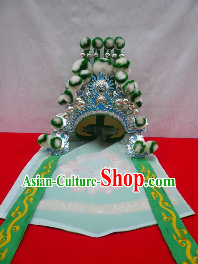 Traditional Chinese Opera General Hat