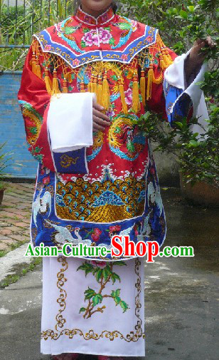 Traditional Chinese Bridal Wedding Dress Complete Set for Women