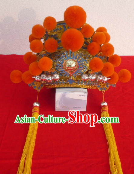 Traditional Chinese Opera Emperor Helmet
