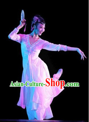 China Classical Dancing Dresses Complete Set for Women