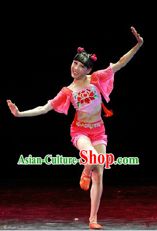Folk Dance Costumes and Headdress Complete Set for Women