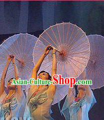 Traditional Handmade Asian Dance Umbrella Prop