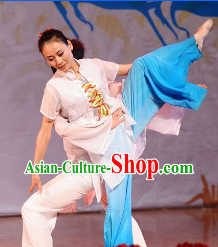 Classic Mandarin Dancing Costumes for Women