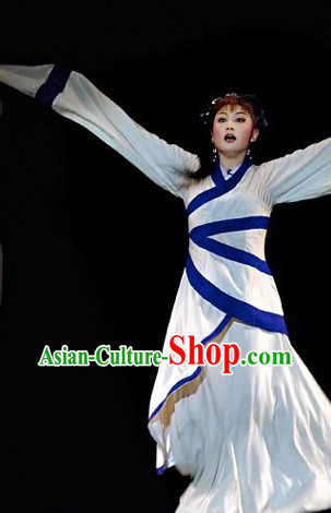 Long Shuixiu Stage Performance Costumes Complete Set for Women