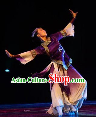 Stage Performance Classicial Costumes and Headdress for Women