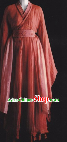 Traditional Red Ancient Chinese Hanfu Clothing for Women