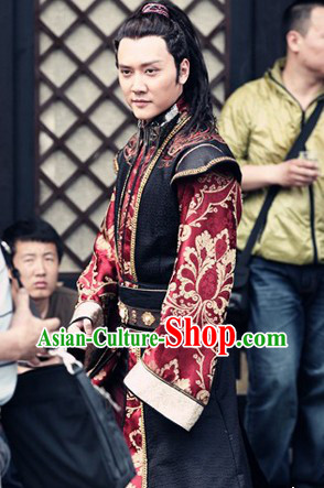 Lanling Wang Emperor Clothing Complete Set for Men