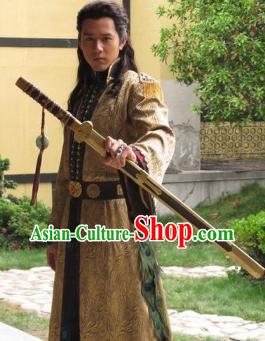 Lanling Wang Swordsman General Costumes for Men