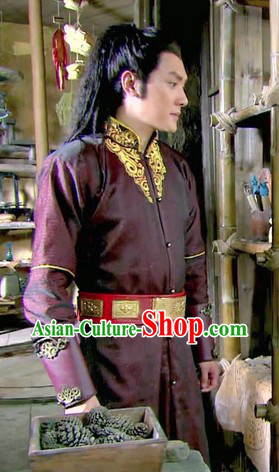 Ancient Chinese Lanling Wang Costumes for Men