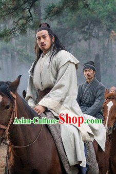 Chu Han Legend Ancient Chinese Xiang Yu Clothing for Men