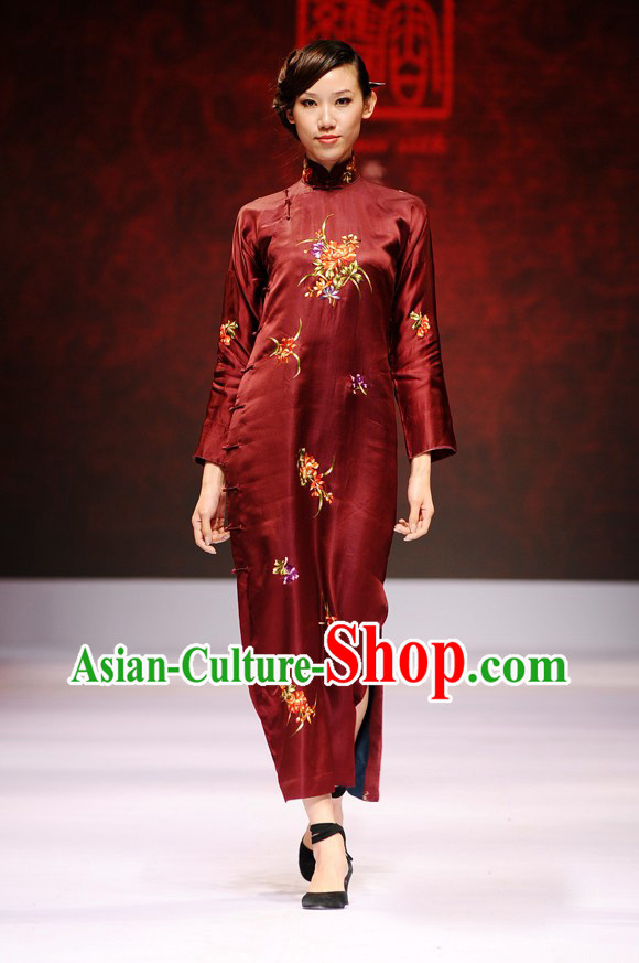 Chinese Loose Style Cheongsam Costumes
