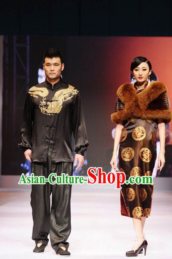 Chinese Style Luxury Couple Fashion Clothing