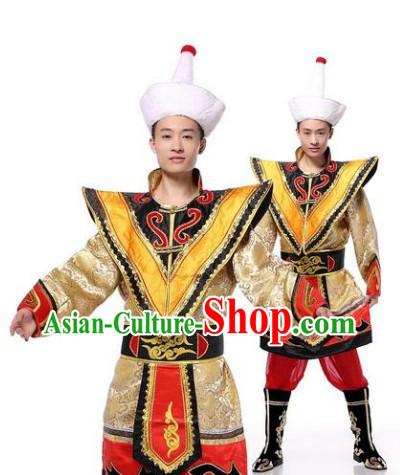 Traditional Clothes of Mongolian Men